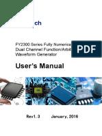 FY2200S User's Manual_V2.0