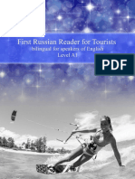 First Russian Reader for Tourists Bilingual for Speakers of English Beginner (A1)