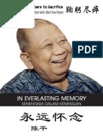 Chin Peng Sentiasa Dalam Kenangan  - CHIN PENG IN MEMORY