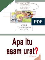 powerpoint asam urat