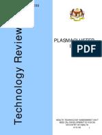 Plasmacluster Ion Report