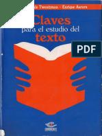 Claves para el estudio del texto - Apéndice