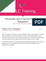 Advanced Java Training in Marathahalli, Bangalore