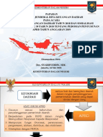 Paparan Dirjen Pedum Penyusunan APBD 2019