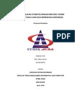 Proposal Sistem Penilaian Otomatis Cosine Similarity