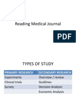 Reading Medical Journal