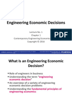 Ch 1 Engineering Economic Decisions