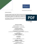 Informativo Académico  2015