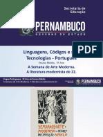 A Semana de Arte Moderna. a Literatura Modernista de 22.