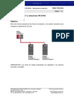 InfoPLC Net NT L CC Link Con Estaciones FR A7NC Variadores Serie 700
