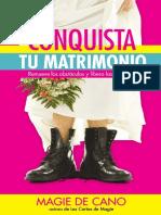 Conquista Tu Matrimonio (Magie de Cano) - Libro Digital