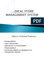 Medical Store management