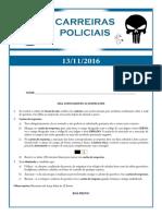 222 - Carreiras Policiais - (PRF-PF-DEPEN) - 13-11-2016-5