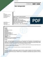 NBR 14698 - Vidro Temperado.pdf
