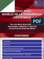 Codigo Rojo Ana Maria [58262]
