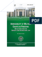 Monograph Adminisibility of Military Courts