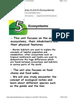 Unit+5+Ecosystems