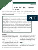 (Meer Et.al) Worse Outcome in Women With STEMI