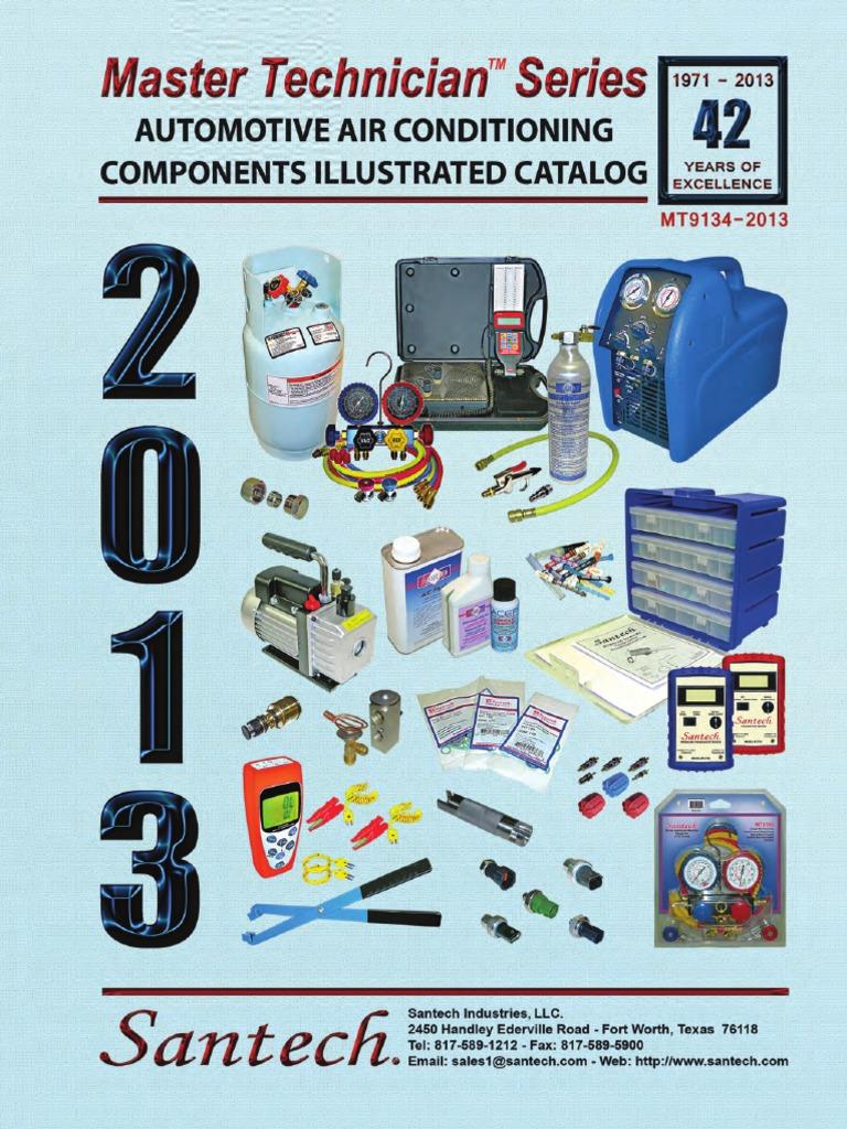 Santech Technition Series Catalog Fuse Box Diagram 2003 Fx35 Rwd