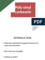 Polyvinyl Carbazole B.Tech Polymer Science