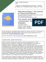 Texto Sobre Biografia e História