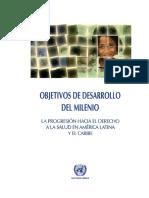 objetivos del desarrollo del milenio