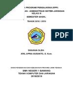 RPP Administrasi Sistem Jaringan 2018-2019