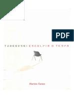 Tarkovski Andrei Esculpir o Tempo