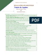 Commentaire de La Physique d'Aristote (Espagnol)