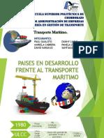Paises en Desarrollo Frente Al Transporte Maritimo