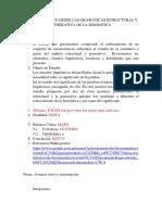 Analisis Crítico Desde Las Gramáticas Estructural y Generativa de La Semántica