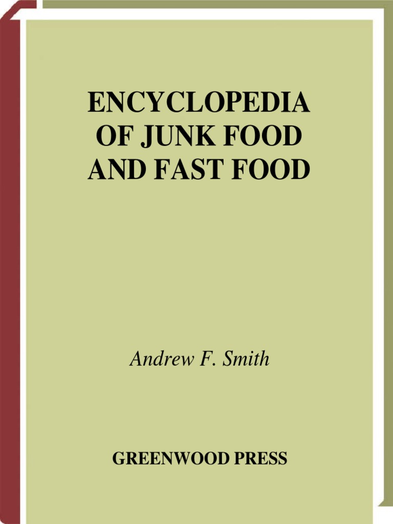 e9d94bc68d9 Encyclopedia Of Junk Food And Fast Food.pdf