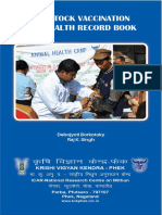 Livestock Vaccination and Health Recordbook