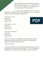 Discurso San Martín