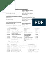 Plantilla de Elaboración CV-Personalizado