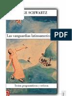 Schwartz Jorge Las Vanguardias Latinoamericanas Introduccion e Indice