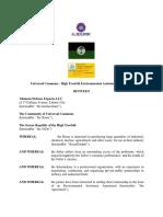 Environmental Cooperation Agreement