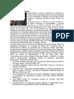 Biografias de Personalidades Guatemaltecas