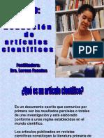 Presentación de Artículos Científicos LUZ