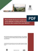 Plan de Gestion Social Para El Relleno Dona Juana