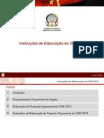 1-GERAL - Apresentação Sobre Instruções Elaboração OGE 2019 - Maio de 2018