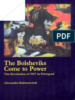 Alexander Rabinowitch. The Bolsheviks Come to Power