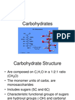 carbohydrates and lipids