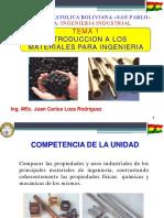 Tema 1 Introduccion de Materiales Para Ingenieria