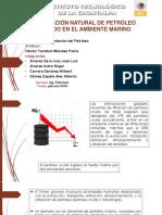 Filtración Natural de Petróleo Crudo en El Ambiente Marino
