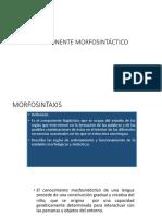 COMPONENTE MORFOSINTÁCTICO.pptx