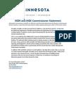 Radon in Schools Commissioner Statement MDH-MDE 7-26-18