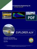 ISE Explorer AUV - Datasheet
