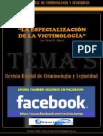 40 - La Especialización de La Victimología