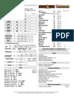 Dan 2 Scales Character Sheet